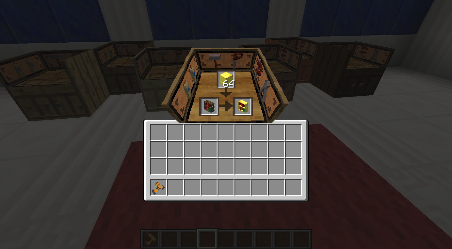 Oak Furniture Paneler Bibliocraft