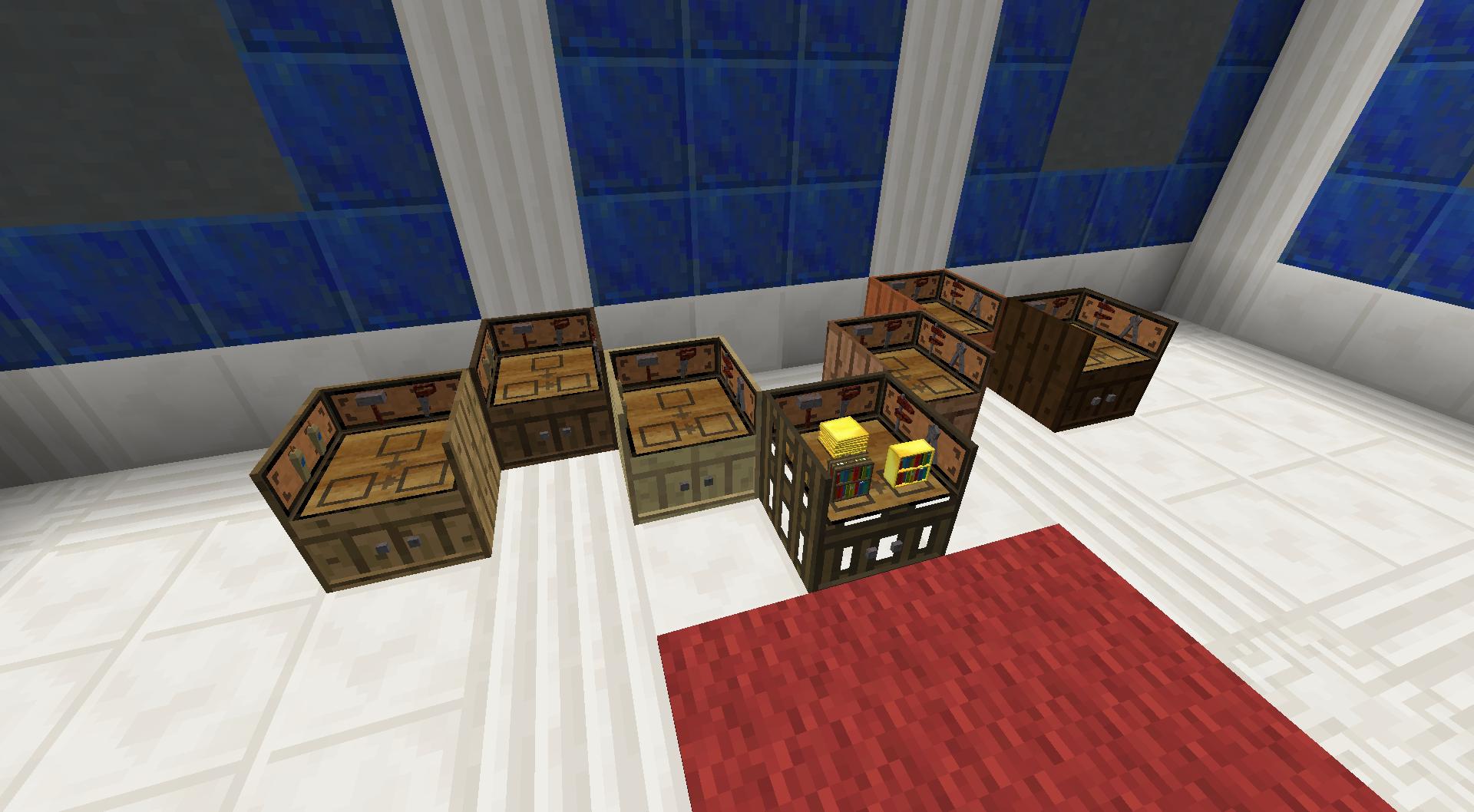 Furniture Paneler | BiblioCraft Minecraft Oak Wood Block Texture